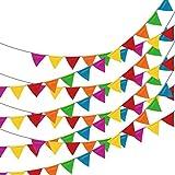 150 PCs Party Wimpelkette Banner Party Dekorationen 262 Füßen, bunt, 1 Strang, von linxii