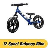 Laufrad Vergleich Strider - 12 Sport Balance Bike, von 18 Monaten bis zu 5 Jahren, blau bei Amazon
