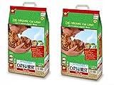 Cat's Best Oko Plus Clumping Organic Cat Litter -10 Litre (Pack of 2) Total = 20 Litre