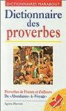 Dictionnaire des proverbes par Pierron