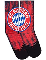 FC Bayern de Munich Chaussettes 41–46+ GRATIS Stickers München Forever, Munich Calcetines/Socks/Chaussettes/(35–40)