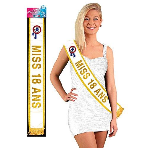Echarpe Miss 18 ans 3760147514378