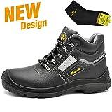 Botas de Seguridad deTrabajo s3 para Hombre - SAFETOE 8027 Zapatos de Trabajo con Punta de...