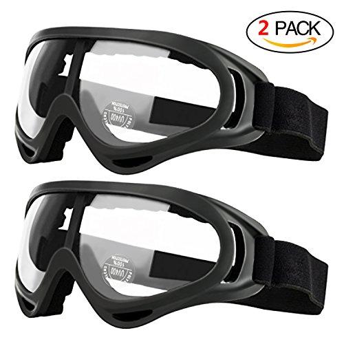2er Pack Kinderschutzbrille mit Anti-Fog- und UV-Schutz Perfekt für Foam Blaster Gun