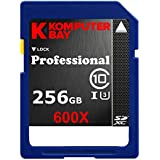 Komputerbay à 256 Go High Speed SDXC Class 10 UHS-I, U3 600X Flash Card