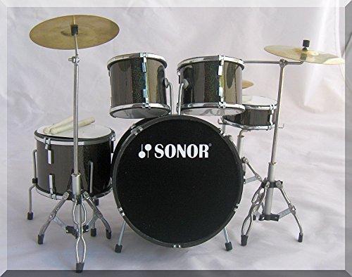 SONOR Miniatur Drumset (nur zur Dekoration)