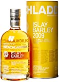 Bruichladdich 2009 Islay Barley Whisky Claggan, Cruach, Island and Mulindry Farms Whisky mit Geschenkverpackung (1 x 0.7 l)