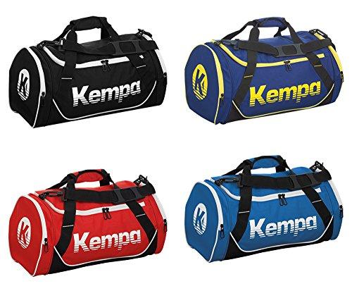 Kempa Drift Sporttasche mit Tragegurt in verschiedenen Farben und Größen Schwarz