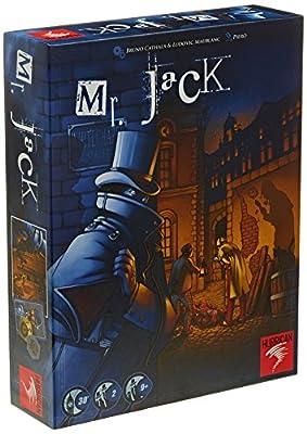 Asmodee - MJA01 - Jeu de stratégie - Mr. Jack