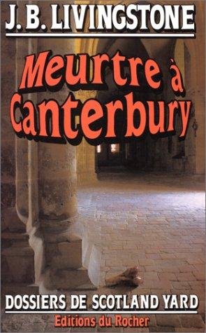 Meurtre à Canterbury
