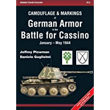 Camouflage & Markings of German Armor in the Battle for Cassino: January-may 1944