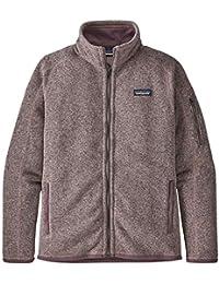 Patagonia W's Better Sweater Jkt Chaqueta, Mujer, Hazy Purple, L