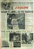Telecharger Livres EQUIPE L No 12771 du 01 06 1987 MOTTET PREND LE POUVOIR NOAH ET BEN AU FEU SUEDOIS PROST EXCLU DE A SAMBA BORDEAUX MAINTENANT BOIRE DANS LA COUPE RUGBY ZIMBABWE BOXE TYSON ATHLETISME VIGNERON ESCRIME LAMOUR ET BROUQUIER (PDF,EPUB,MOBI) gratuits en Francaise