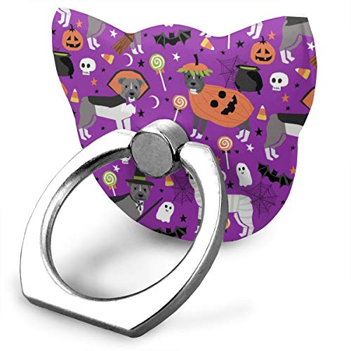 best& Pitbull Halloween Costume Dog Vampire Ghost Mummy Purple_16844 360 Degree Swivel Creative Ring Buckle Bracket Multi-Functional Ring Bracket Stand for Universal Phone