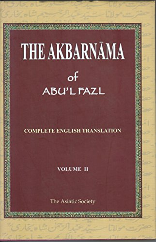 The Akbarnama of Abul Fazal vol 2 [Hardcover] [Jan 01, 2010] H. Beveridge