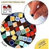 Mini-Mosaicos (5x5x3mm), 5.000 teselas, Colourmix, MXAL