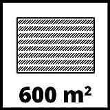 Einhell Akku Rasenmäher GE-CM 43 Li M Kit (Lithium-Ionen, 18 V, 4000 mAh, Schnittbreite 43 cm, 6-fache Schnitthöhenverstellung 25-75 mm, Fangbehältervolumen 63 l, inkl. 2 Akkus) - 8
