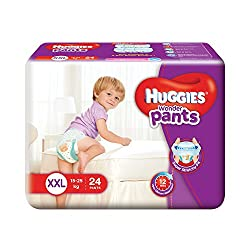 Huggies Wonder Double Extra Large Size Diapers Pants (24 Count)