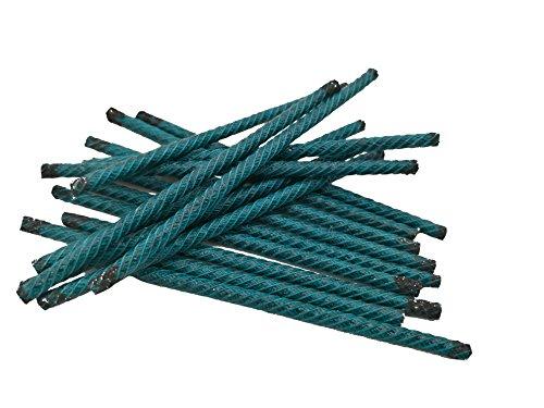 6cm Zündschnur, Anzündlitze * Visco * 6cm-Abschnitte / Ideal für Modellraketen, Lernspielzeug (50 Stück)
