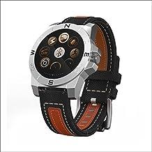Fitness pulsera fina, Smart Pulsera Pulsómetro–Bluetooth Smart Watch Niños Fitness Tracker Mujer estrecho & Sport Smart Watch Mujer inactivo de tiempo (7días)/Vida resistente al agua anti de pérdida de, color marrón