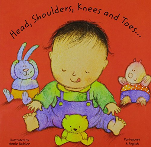 Head, Shoulders, Knees and Toes in Portuguese and English Cover Image