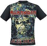 Iron Maiden Aces High T-Shirt schwarz L