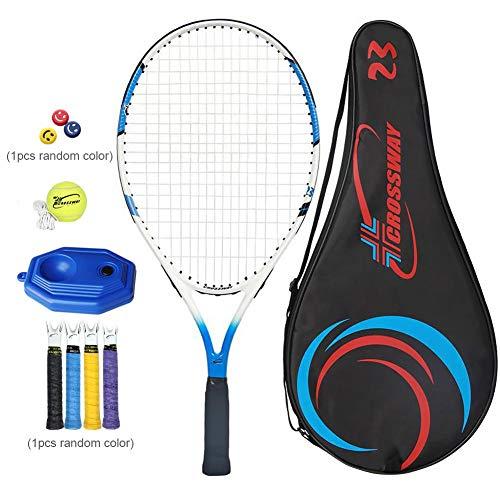 Raquetas de Tenis para niños Marcos de Aluminio al Carbono Raquetas de Tenis para niños para niños Niños Niños y niñas Entrenamiento Deportivo