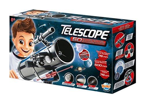 Buki - TS008B - Telescopio 50 actividades niños