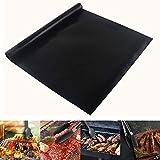 Extsud 3 Pcs 40x100cm Tapis de Cuisson pour Barbecue et Four 100% Anti-adhérent...