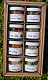 Thai Spices Gift Box Of 8 Mini Jars