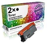 N.T.T.® 2x Kompatibel zu Brother Toner TN-660 Black/Schwarz für DCP-L 2500 2520 2540 2560 2700 HL-L 2300 2320 2340 2360 2365 2380 MFC-L 2700 2703 2720 2740 2741