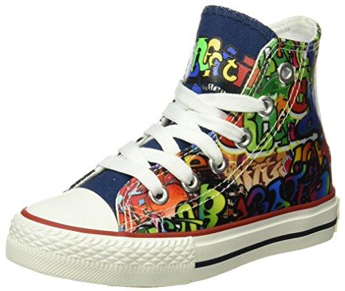 Beppi Canvas Boot 2153480, Chaussures de sport mixte enfant Blanc