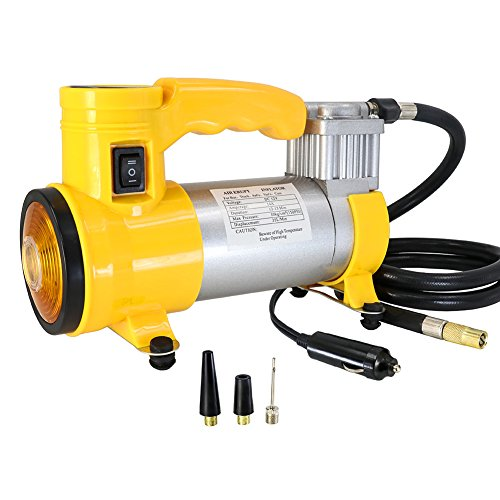 smartspec tragbar Super Flow 12V 150PSI KFZ Pumpe Air Kompressor mit Beacon