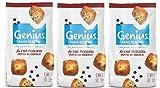 Genius Sans Gluten - Cake Sans Gluten Moelleux - Pépites de chocolat - (7x40g) 280 g - Lot de 3