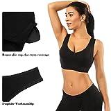 SIMIYA Super Comfort Bra, Womens Sports Bras Plus Size Sleep Bras for Girls in Yoga Bralette Leisure Stretch Crop Tops Vest 3 Pack