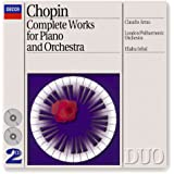 Chopin: Piano Concertos Nos.1 & 2 etc (2 CDs)