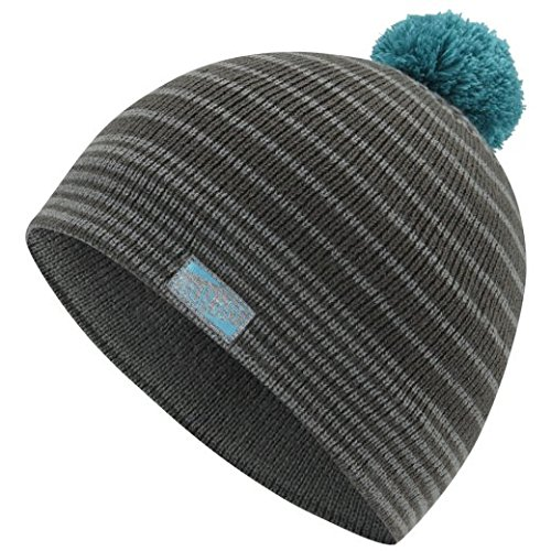 Rab Damen Grade Bobble Hat, anthrazit