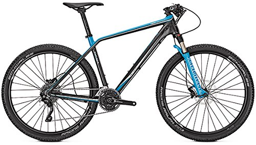 Mountainbike Univega Vision Performance 27,5\' 30-Gang Carbon/Blue matt, Rahmenhöhen:48, Farben:Carbon/Blue matt