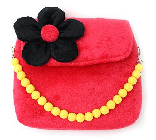 Scheppend Fashion Little Girls Handtasche Children Single Umhängetasche Tasche für Kleinkinder und Kinder rot (Hübsche Kleider Für 10 Jährigen)
