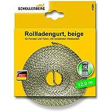 Schellenberg - Cinta de persiana mini, 12 m