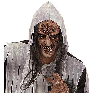 WIDMANN 00379?Máscara zombie/Bruja a medio