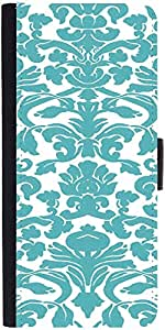 Snoogg Motif Print Graphic Snap On Hard Back Leather + Pc Flip Cover Apple Ip...