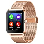 Z50 Smart Watch Phone Bluetooth Connected with Headset Speaker Support SIM Card TF Card SmartWatch For Apple Android • Z50 Watch Informaiton • Watch Size 46.8X40.6X11.8MM • Surface Handing Techniques Metal Electroplate • Watch Color : Silver Black Go...