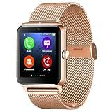Micromax Canvas Viva A72 COMPATIBLE Z50 Smart Watch Phone Bluetooth GSM NFC G-sensor Camera 1 SIM Card Pedometer...