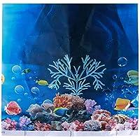 POPETPOP Fondo del Mundo Submarino 3D Acuario Coral Peces mar Fondo romántico Fondo de Bodas fotografía