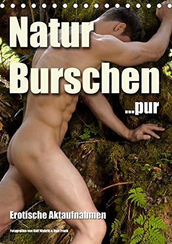 Naturburschen pur (Tischkalender 2020 DIN A5 hoch): Erotische Männerfotografie (Monatskalender, 14 Seiten ) (CALVENDO Menschen)