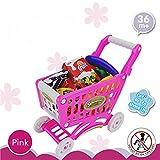 EQLEF® 3+ bambini Supermercato Shopping Trolley frutta Alimentari Giocattoli Set & Giochi di ruolo