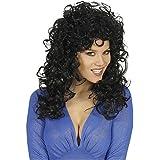 Widmann 5957s–Mujer de pelo largo peluca Attractive, talla única adultos en caja, negro