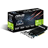 ASUS 90YV06P0-M0NA00 NVIDIA GeForce GT 730 2GB - Tarjeta gráfica (Pasivo, Windows 8, NVIDIA, GeForce GT 730, GDDR3-SDRAM, PCI Express 2.0)