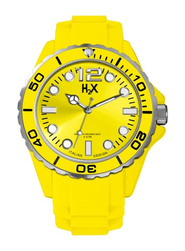 HAUREX ITALY SY382UY1 - Reloj (Pulsera, Unisex, Metal, Acero inoxidable, 4,3 cm, 1,2 cm)